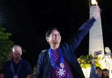 Marcos party names his only son its presidential bet